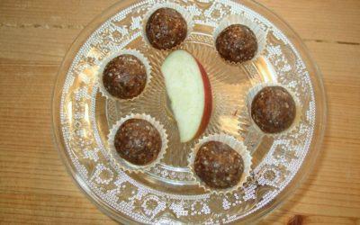 Apfelkuchen-Pralinen