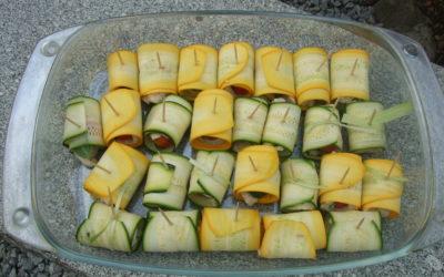 Zucchini-Päckchen
